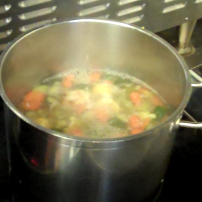 Vegetable Noodle Soup 4