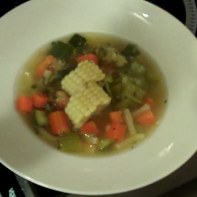 Vegetable Noodle Soup 6